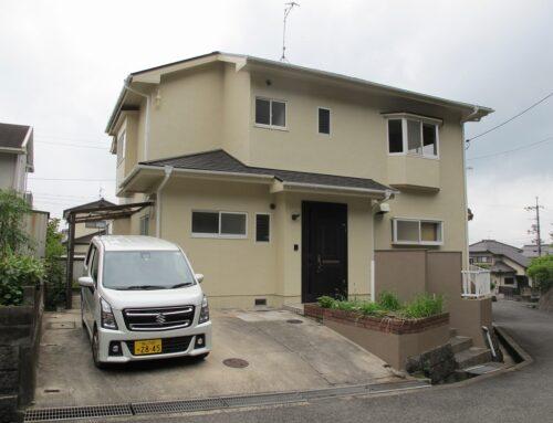 福山市大谷台中古住宅、駐車2台可能。4LDKリフォーム済み物件。随時ご案内致します。