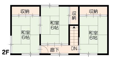 福山市芦田町福田_間取2F